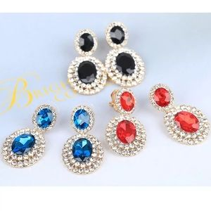 Clip On Sparkly Special Occasion Earrings